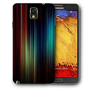Snoogg Vivid Multicolor Printed Protective Phone Back Case Cover For Samsung Galaxy NOTE 3 / Note III