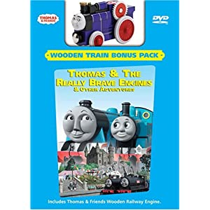 Thomas and Friends: Thomas and the Really Brave Engine (Wooden Train Bonus Pack) movie