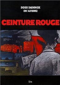 Ceinture rouge - Didier Daeninckx - Babelio d5ba2d8f520