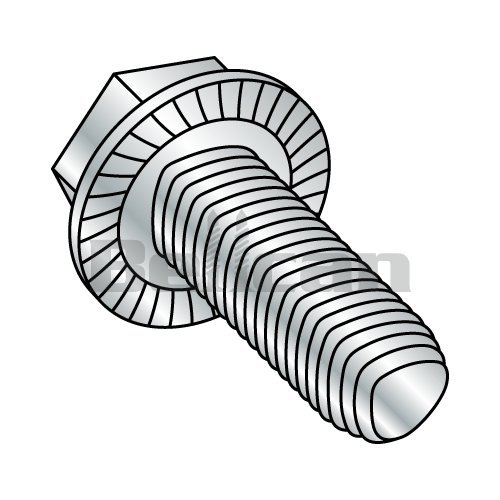 Phillips Drive 3//4 Length Pack of 100 82 Degree Flat Undercut Head Steel Thread Rolling Screw for Metal #12-24 Thread Size Zinc Plated