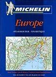 echange, troc Atlas routiers et touristiques Michelin - Atlas routiers : Europe, N° 130 (petit format relié)