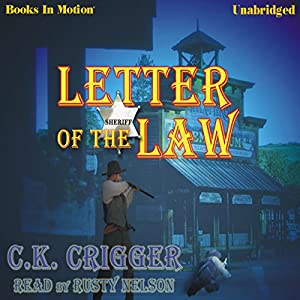 Letter of the Law Audiobook