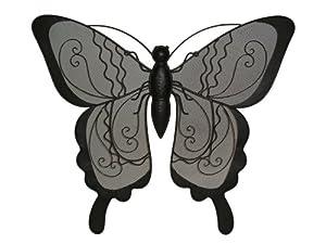 "Gardman 8444 Large Butterfly Wall Art - 22"" long x 24"" wide x 2.5"" deep"
