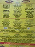 Leeds & Reading Festival 2011 (Muse, Pulp, The Strokes) - Poster Ad
