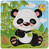 GOTD Wooden Panda Jigsaw Toys For Kids Education And Learning Puzzles Toys