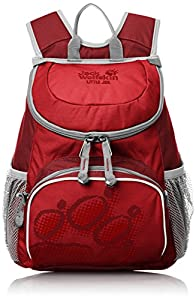 Jack Wolfskin Kinder Rucksack Little Joe, Red Fire, 31 x 26 x 23 cm, 11 Liter, 26221-2590