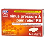 Rite Aid Sinus Pressure and Pain Relief PE, 24 Caplets