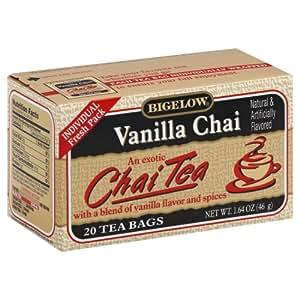 Bigelow Tea Chai Tea Vanilla -- 20 Tea Bags