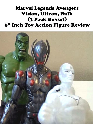 "Marvel Legends Avengers VISION, ULTRON, HULK (3 Pack Boxset) 6"" inch Toy Action Figure Review"