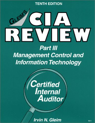 CIA Review, Part 3: Management Control & Information