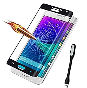 ( Pack of Two ) one Popular USB Led Lamp in any one colour & Full Screen Two Anti-scratch Laser-cut tempered glass Protectors with Curved Edge, Cover Edge-to-Edge, Protect Your Phone from Drops & Impacts, HD Clear, Bubble-free Shockproof It's pressure-resistant & delivering an outstanding durability for your Smart Phone - Moto X Style