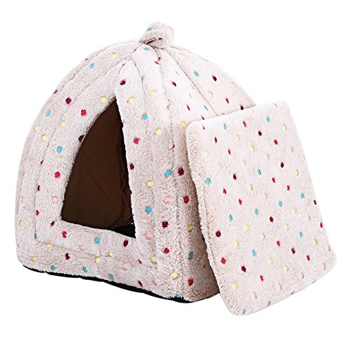 YOOYOO Ger Shape Pet House Nest Soft Removable Cushion for Small Dog (COFFEE) (Tractor Accesories compare prices)