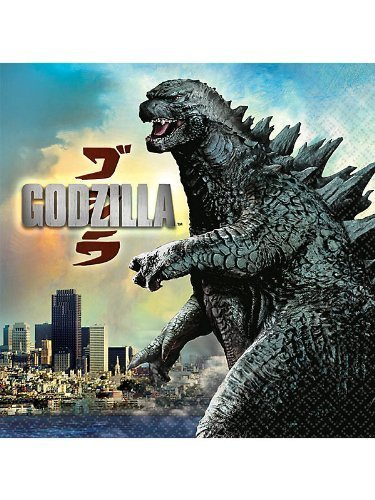 Godzilla Lunch Napkins (16ct) - 1