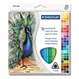 Staedtler Triangular Colored Pencils, Assorted Colors, Set of 72 (Color: Assorted)