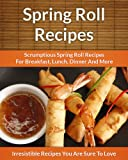 img - for Spring Roll Recipes: Scrumptious Spring Roll Recipes for Breakfast, Lunch, Dinner and More book / textbook / text book