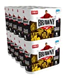 Brawny Regular Rolls Pick-A-Size White, 3 Rolls, Pack of 10 (30 Rolls) (Packaging May Vary)