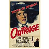 Outrage Movie Poster (11 x 17 Inches - 28cm x 44cm) (1950) Style A -(Mala Powers)(Tod Andrews)(Robert Clarke)(...
