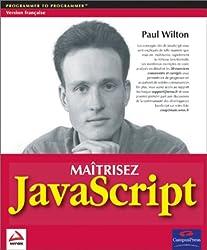 Maîtrisez Javascript