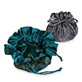Drawstring Jewelry Pouch (Large) - Silk Jacquard