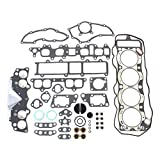 CNS EH027T2 Cylinder Head Gasket Set with Graphite Head Gasket for Toyota 2.4L Pickup Celica Corona 4 Cyl 22R Sohc 8-Valve Engine 81-84
