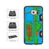 BleuReign(TM) Personalized Custom Name The Mystery Machine Van TPU RUBBER SILICONE Phone Case Back Cover For Samsung Galaxy S6 Edge Plus