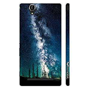 Sony Xperia T3 Milky Way designer mobile hard shell case by Enthopia