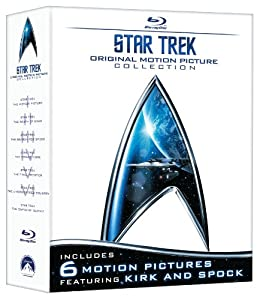 Star Trek: Original Motion Picture Collection (Star Trek I, II, III, IV, V, VI + The Captain's Summit Bonus Disc) [Blu-ray]
