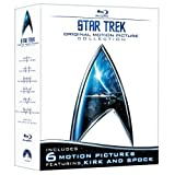 Star Trek: Original Motion Picture Collection (Star Trek I, II, III, IV, V, VI + The Captain's Summit Bonus Disc) [Blu-ray] (2009)
