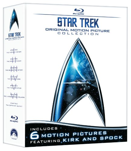 5147VnNvK9L Star Trek: Original Motion Picture Collection (Star Trek I, II, III, IV, V, VI + The Captains Summit Bonus Disc) [Blu ray]