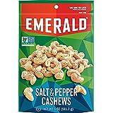 Emerald Salt & Pepper Cashews 5 oz ( 2 Pack) (Tamaño: 5 Ounces)