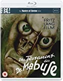 Das Testament Des Dr Mabuse [Masters of Cinema] (Dual Format Edition) [Blu-ray] [1933]