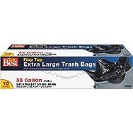 Presto Products 628085 Do it Best Extra Large Trash Bag-10CT 33GAL TRASH BAG