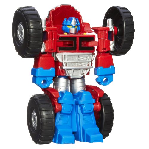 Playskool Heroes Transformers Rescue Bots Optimus Prime Figure - 1