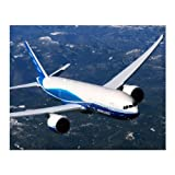 777-200LR In Flight Matted Print