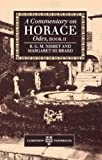 img - for A Commentary on Horace: Odes, Book II book / textbook / text book
