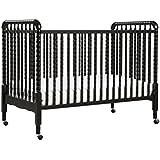Davinci Jenny Lind 3-in-1 Convertable Crib, Ebony