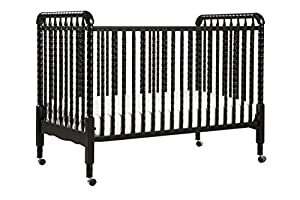 DaVinci Jenny Lind 3-in-1 Convertible Crib, Ebony