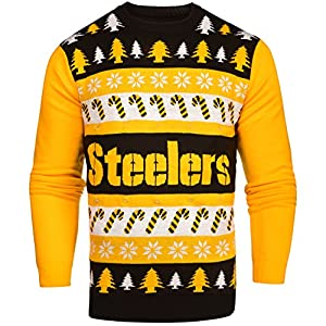 NFL XX-Large Pittsburgh Steelers One Too Many Light Up Sweater