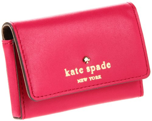 kate spade new york tudor city holly pwru2290 business card holderringwald pinkone size - Kate Spade Business Card Holder