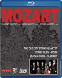 Mozart: Clarinet, Horn, String Quartets (3D Blu Ray Audio) [Blu-ray]