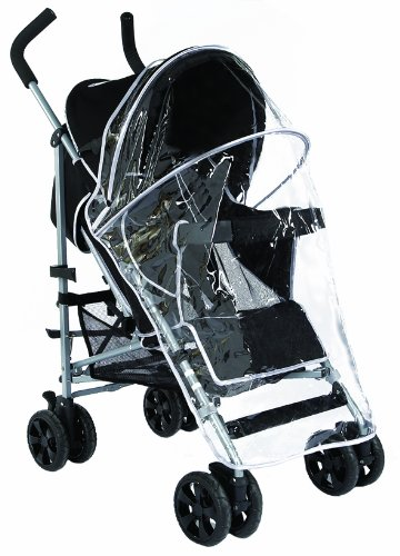 Tippitoes Eze Pushchair (Black / Silver)