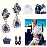 EleQueen-Womens-Austrian-Crystal-Art-Deco-Tear-Drop-Earrings
