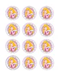 Single Source Party Supply - Disney Princess Cupcakes Edible Icing Image #3