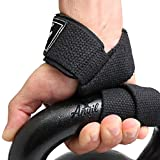 Lifting Straps - Weightlifting Hand Bar Wrist Support Hook Wraps by Anvil Fitness™ Pair(2), Wrist Supports Assist Grip Strength Weight Lifting Straps for Crossfit, Bodybuilding, Power Lifting