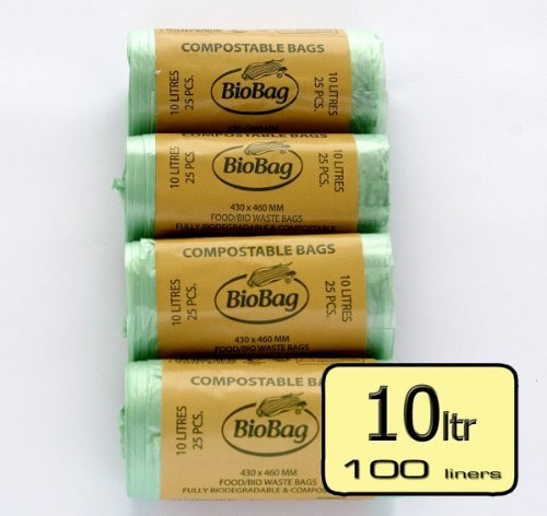 10-ltr-cornstarch-biobag-kitchen-caddy-liner-4-rolls-100-liners-with-caddy-fresh