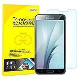 JETech Galaxy S5 Pellicola Protettiva ultra resistente in vetro temperato per Samsung Galaxy S5 (Galaxy S5)