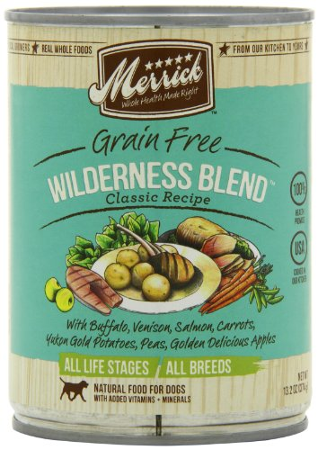 Image of Merrick Wilderness Blend Dog Food 13.2 oz (12 Count Case)