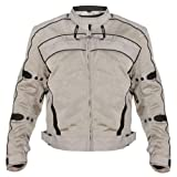 Xelement Igniter Mens Silver Tri-Tex Jacket - Large