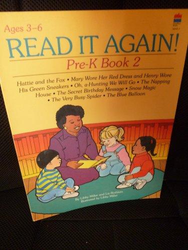 Read It Again!: Pre-K, Book 2 (Read It Again! Preschool - Kindergarten)