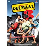 Golmaal 3 (New Hindi Comedy Film / Bollywood Movie / Indian Cinema DVD) ~ Ajay Devgn